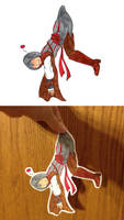 Assassin's Creed II Ezio Paperchild (For Sale) by trinityrenee