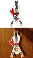 Brotherhood Ezio Paperchild (For Sale) by trinityrenee