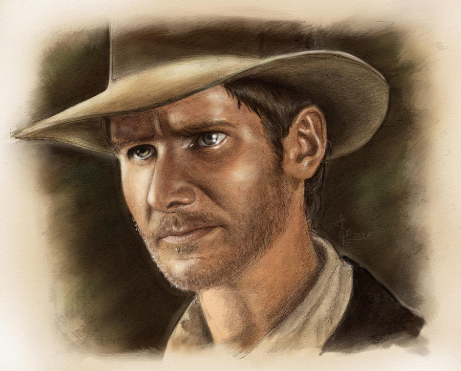 Indiana Jones by artsytarts