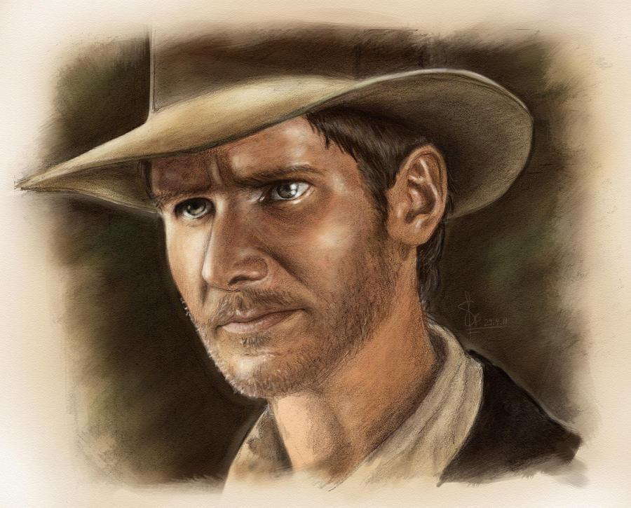 Indiana Jones by artsytarts