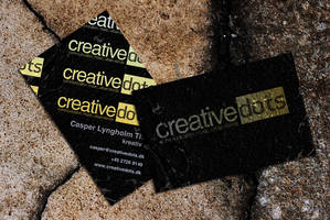 Creative Dots business card by Oerum