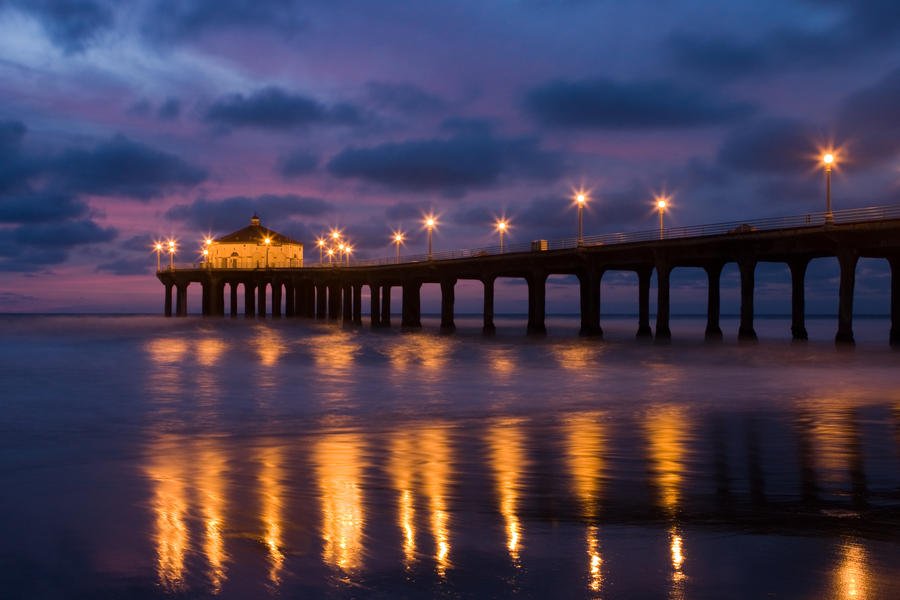 Manhattan Beach Wallpaper: Manhattan Beach Pier 2 By Doninator On DeviantArt