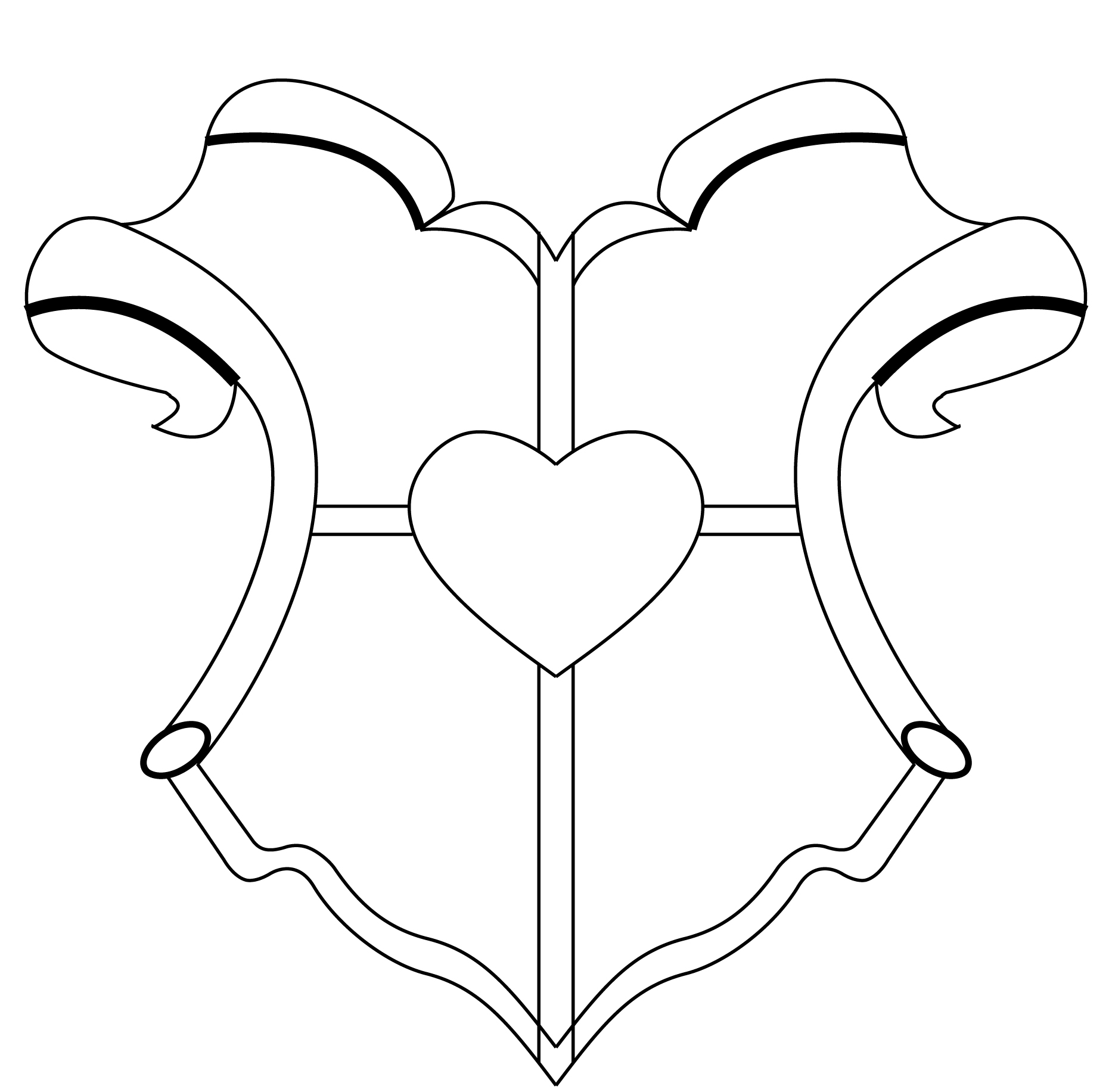 Coat Of Arms Template By Williamcll On Deviantart