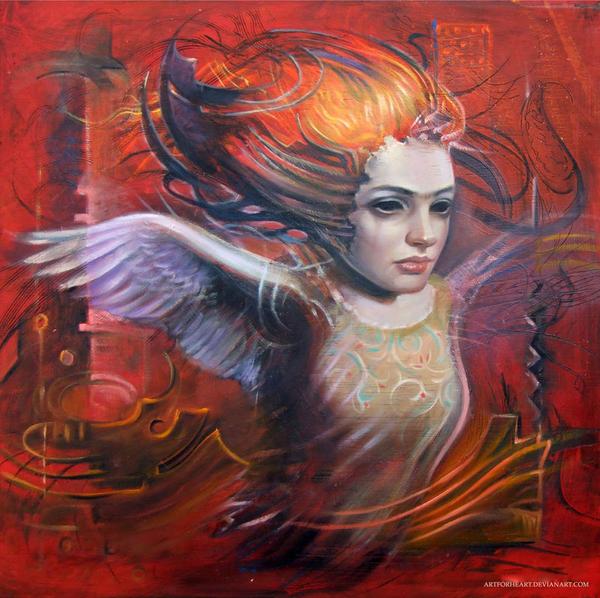 combined angel by artforheart