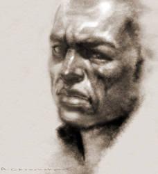 digital portraite drawing