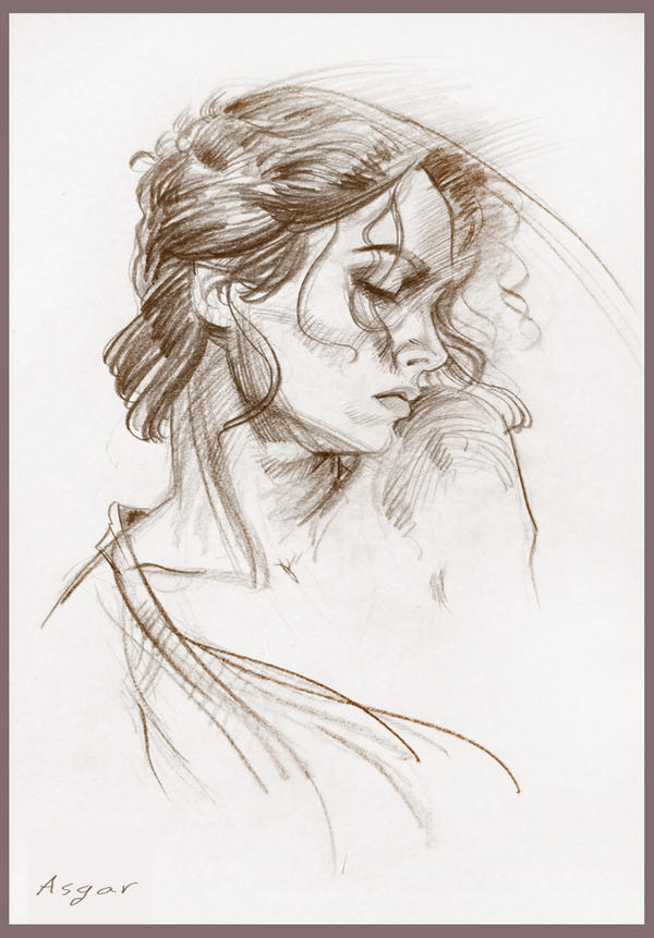 Portrait drawing 2 by artforheart on deviantart for Inspirational pencil sketches