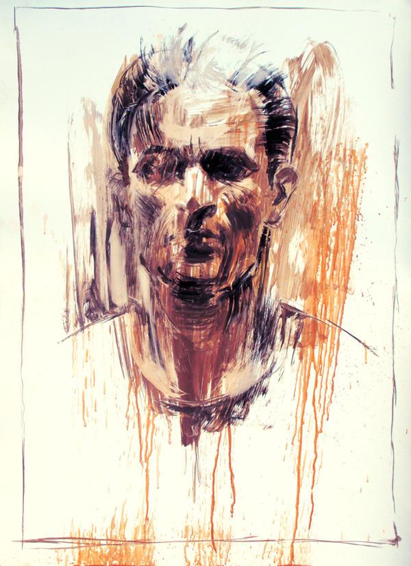 My Bloody Portrait by artforheart