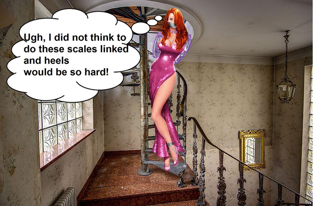 Jessica Rabbit Escape by STEVEBEST88