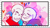 fontcest stamp by smol-skeleton
