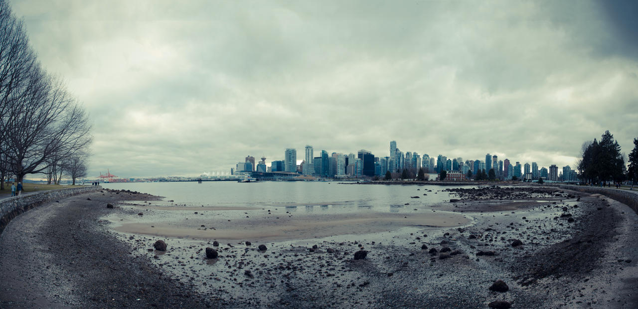 Stanley Park Panorama C by elektrikheat