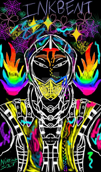 Scorpion AU: Inkbent by KirbyBisharp
