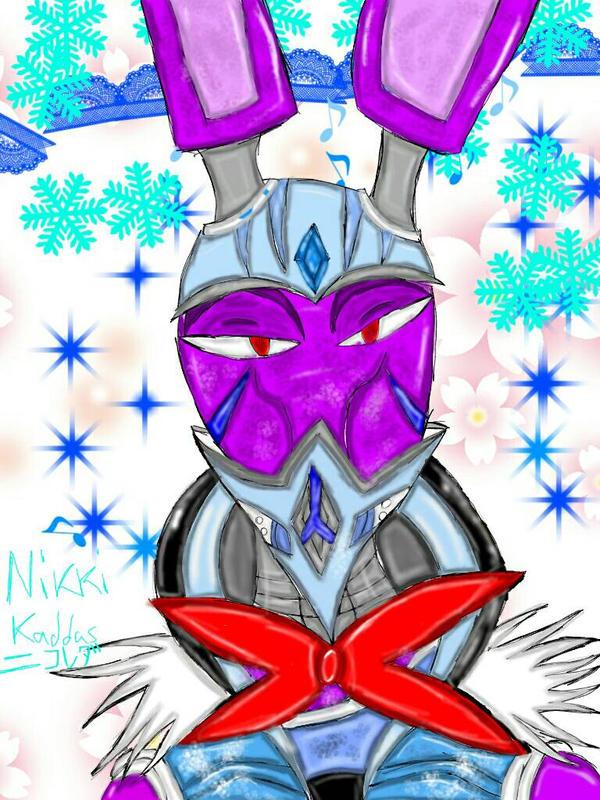 Bonnie the Ninjectic Ice Rabbit by KirbyBisharp