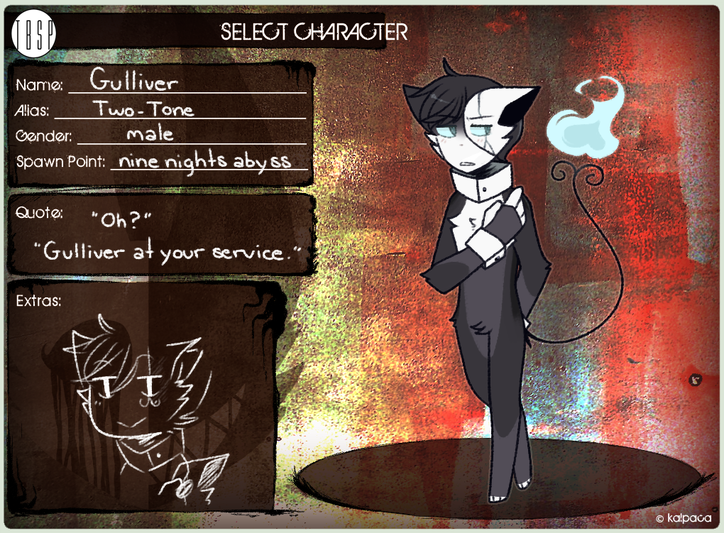 TBSP | PLAYER 1 | Gulliver by sylveonprince
