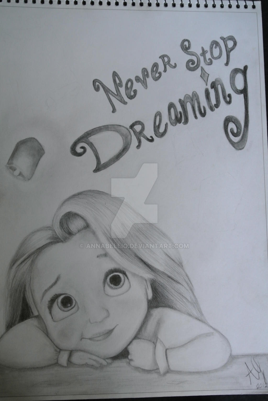 Never Stop Dreaming By Annabellio