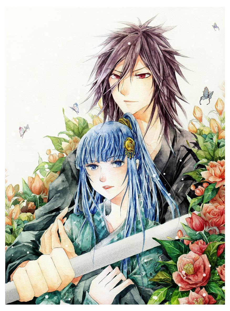 Madara and Izayoi by Wlotus-2307