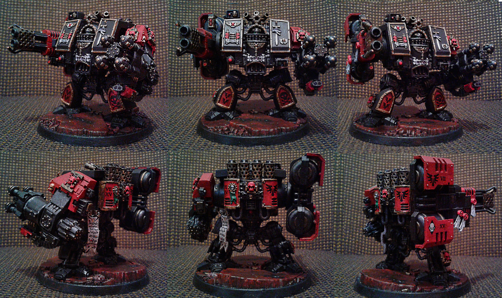 Blood angels death squad venerable dreadnaught six by Naarok0fKor