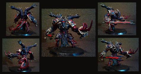 Zor'zz prince daemon of the Black legion