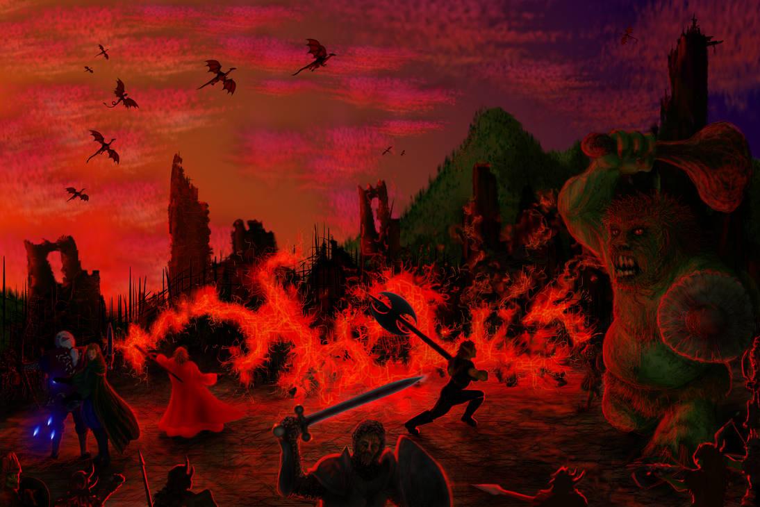 Le Gouffre de Malbregoth 4:Les abords du gouffre.