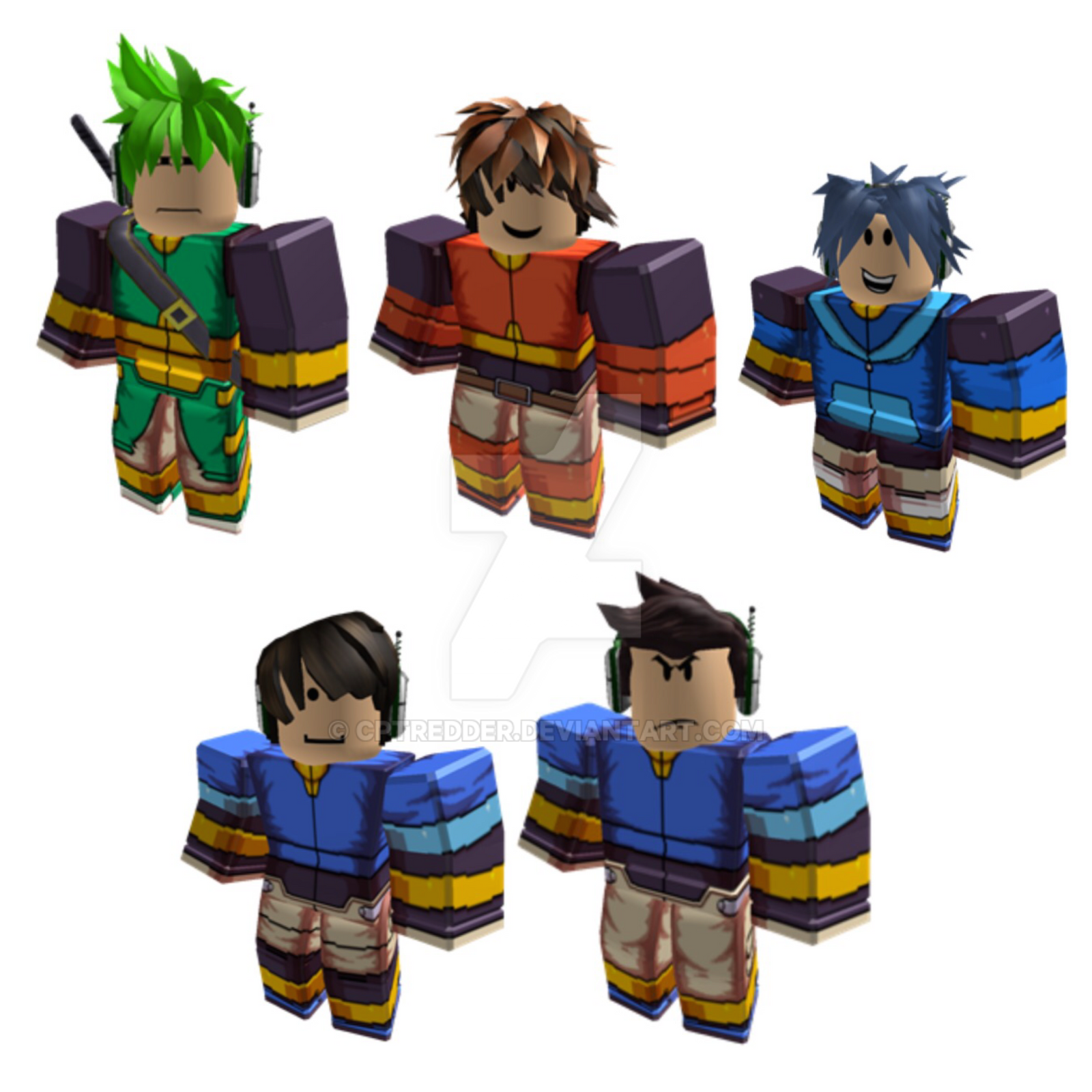 Showcasing Roblox MMZX Outfits R15 by cptredder on ...