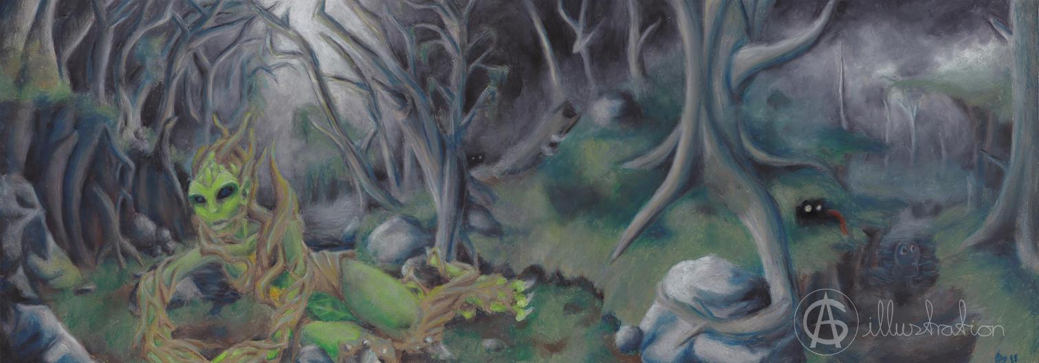 Forest God Awaken by AG-sArt
