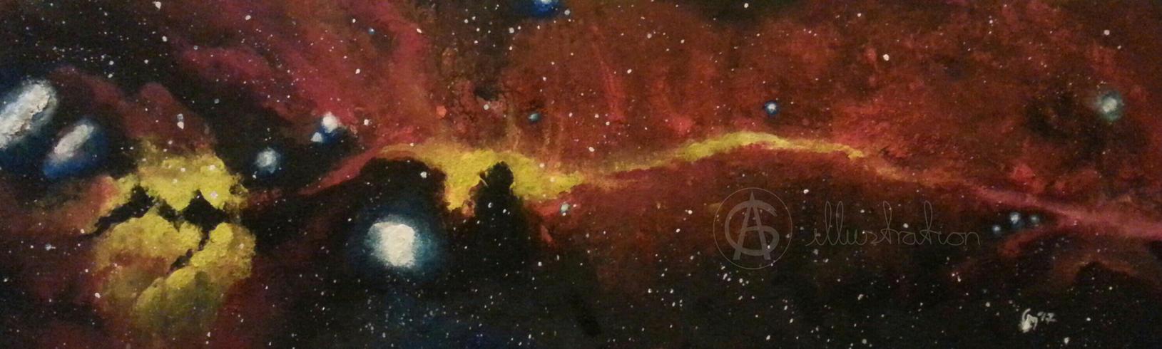 Nebula Lightning Red by AG-sArt