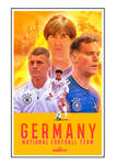Germany Football Team Fan Made Poster