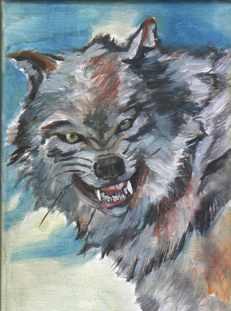 Angry Wolf Angry wolf by the-nitghkill Angry Black Wolf Drawing
