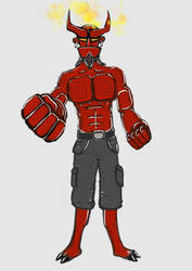 Hellboy by jimyeh00