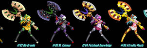 (MUGEN) Shadow Labrys by Son of Aura - Palettes
