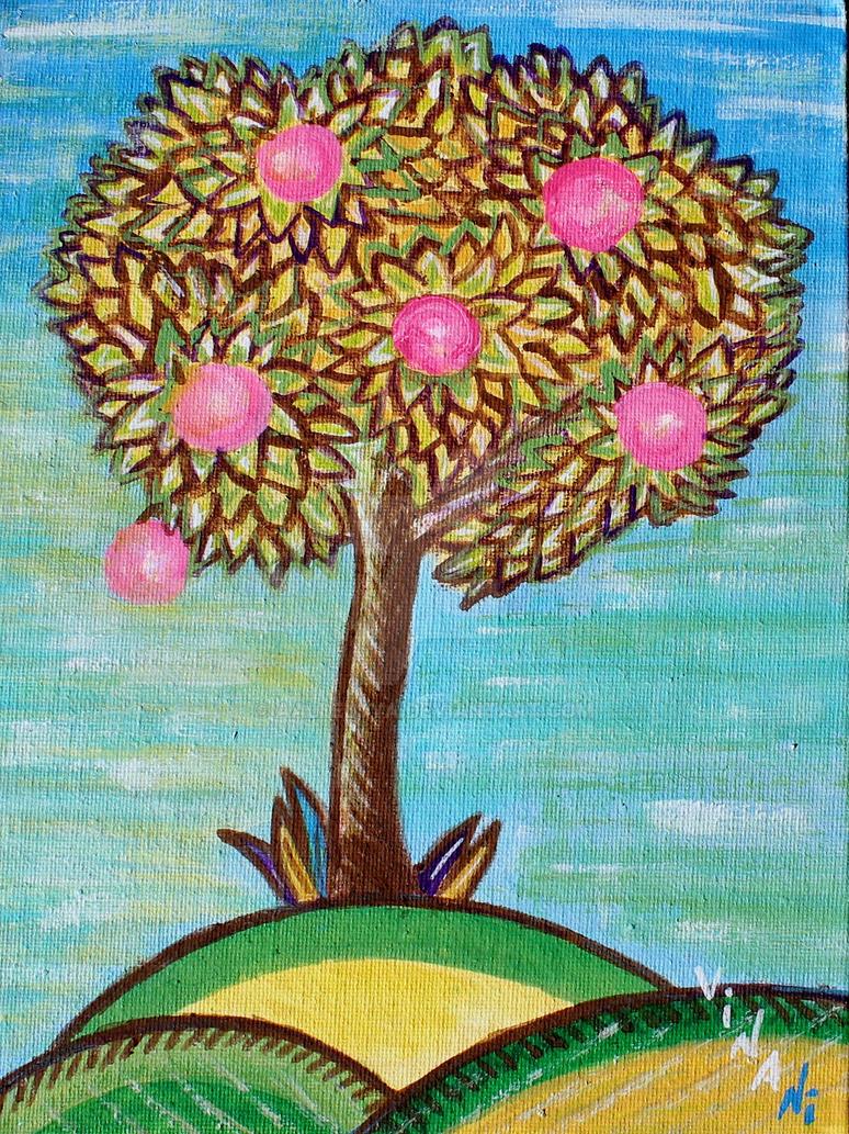 Apple tree by aalleluya