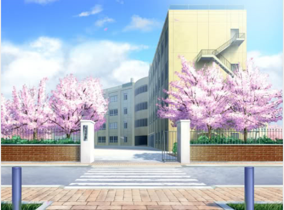 Anime School #1 by ShamelessBeauty3 on DeviantArt Anime School Front