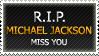 R.I.P. Michael Jackson by Qarstar