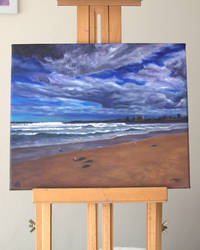 Oil Painting, Before the Storm, Artwork