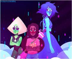 Steven Universe    New Crystal Gems [Speedpaint] by H0nk-png