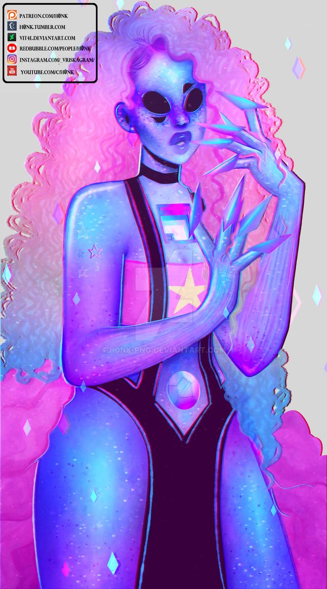 Rose Quartz + Bismuth Fusion [Speedpaint] by Vit4l