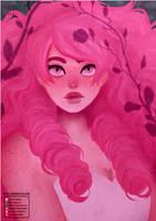 Steven Universe | Rose Quartz [Speedpaint] by H0nk-png