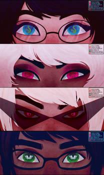 Commission | Alpha Kids Eyes