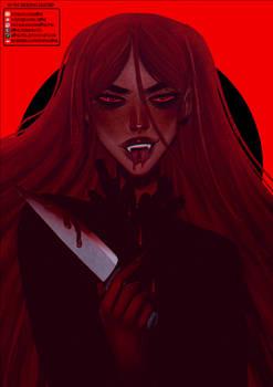 Goretober | Blood [Speedpaint]