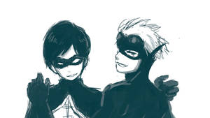 young justice robin and kid flash
