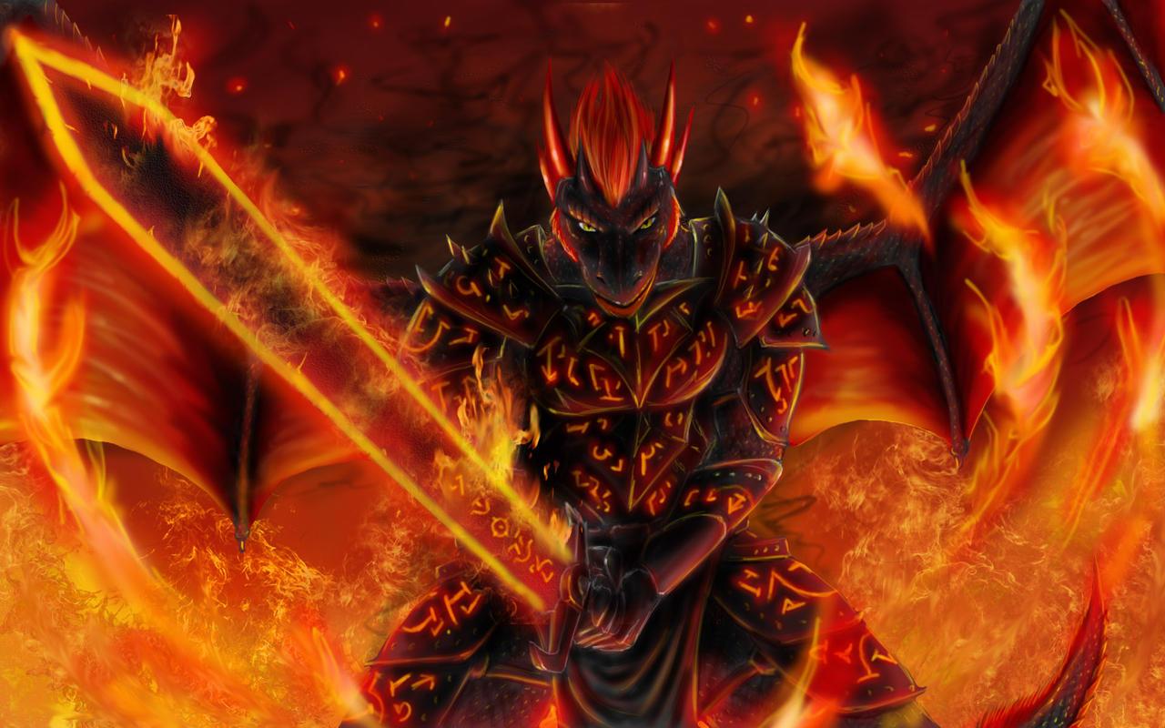 Maionios Warrior Commission By Max Dragon
