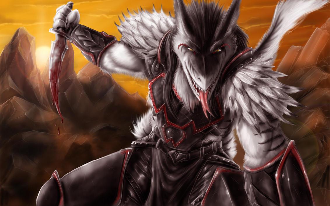 Blackwar commission by Max-Dragon