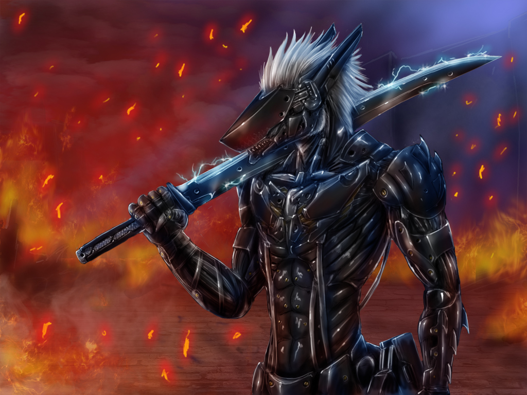 Metal Gear Sergal by Max-Dragon