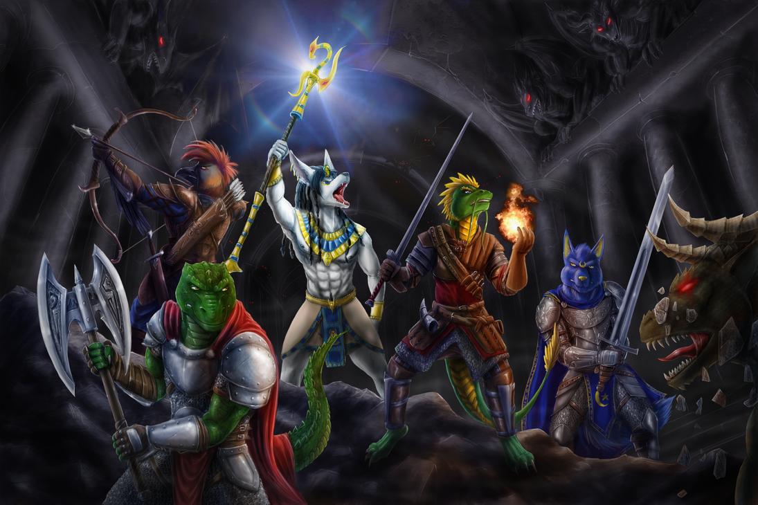 Gargoyles by Max-Dragon