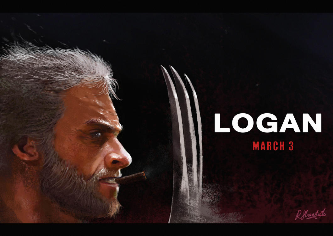 2017 Movie Posters: Logan 2017 Fanart Poster By Shaatish On DeviantArt
