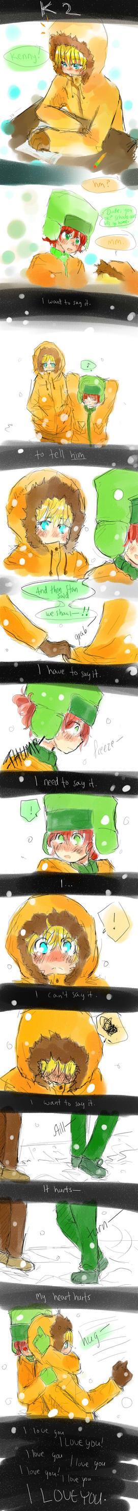 South Park - K2 comic by Burbs-chan