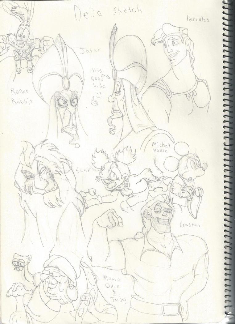 Disney animators tribute I by DisneysNineOldMenfan