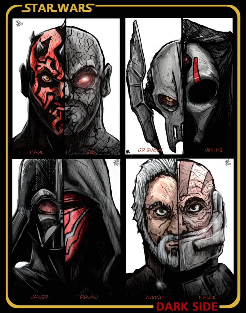 mw star wars dark side poster by dudewhodrawsstuff on deviantart