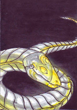 ACEO - Snake