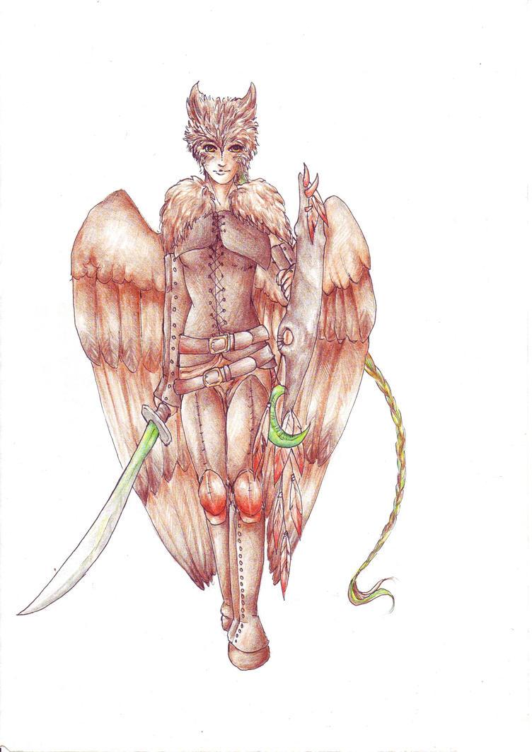 Inuma - Druid, DnD Character by SybilaSulfur