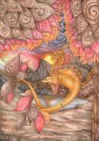 Autumn dragon by SybilaSulfur
